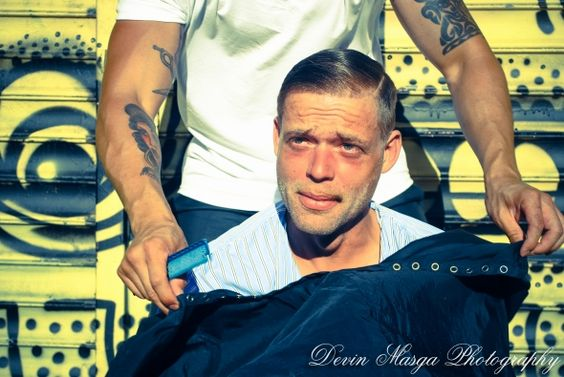 We're Thankful For Mark Bustos, Hairdresser Who Cuts Hair For Homeless