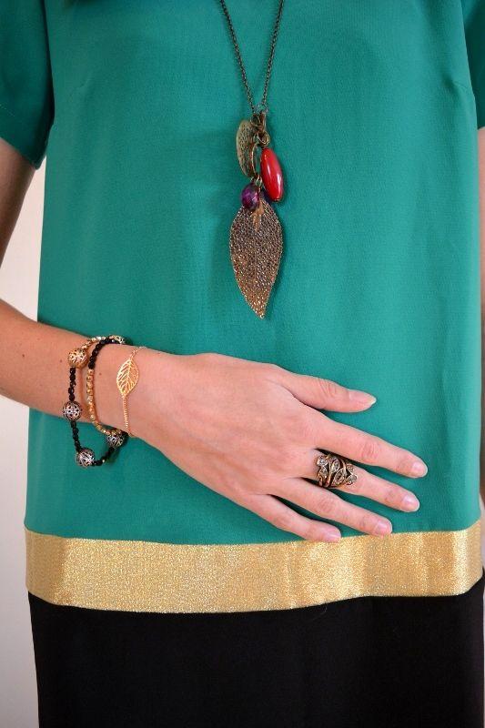7. bijoux dorés or