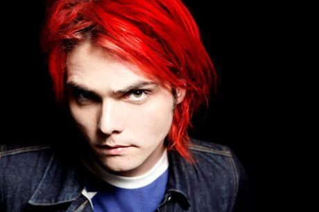 Gerard Way - MCR lead singer, I love his red hair!