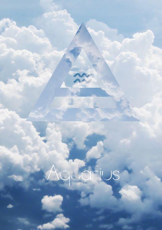 Air sign Aquarius