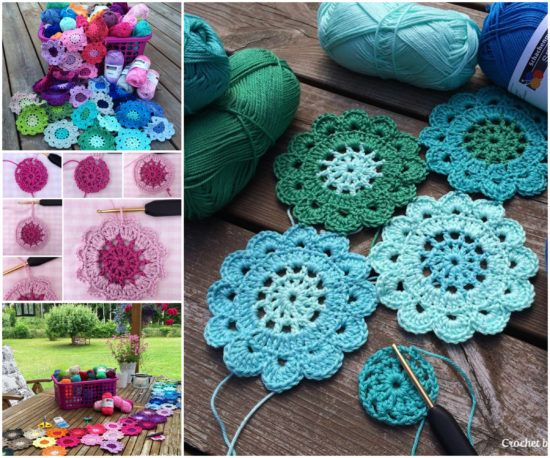 Free Pattern Crochet Japanese Flower : Crochet Flowers Free Patterns The Best Collection ...