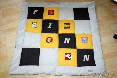 Tanjasfamily: Willkommen kleiner Finn! Baby / Quilt