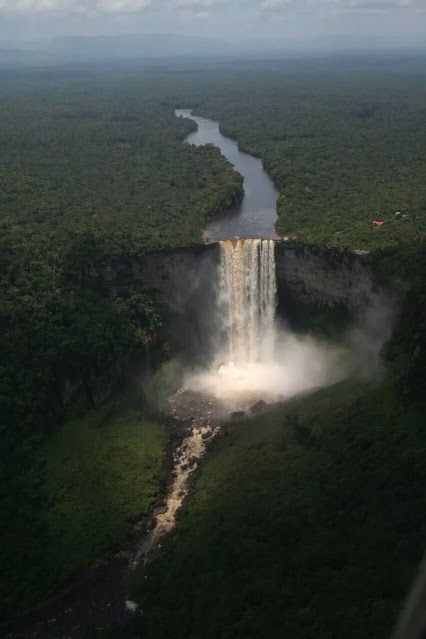 Kaieter Falls, Guyana