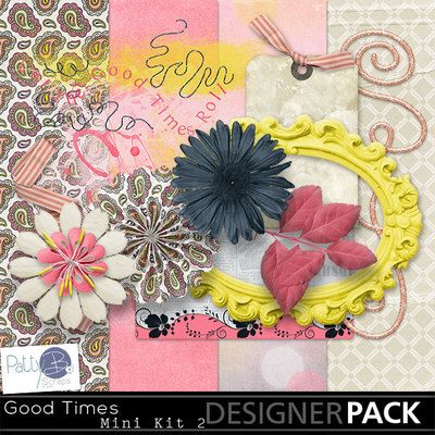 Fun with the family, a great time with friends - this collection is perfect for scrapping those awesome photos!  An exciting and vibrant palette, that includes subtle neutrals as well.