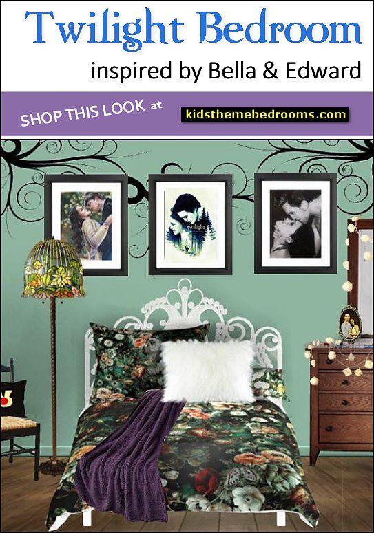 Bellas Bedroom Twilight Saga Themed Bedroom Decorating Ideas Bedroom Themes Blue Bedroom Decor Blue Bedroom Ideas For Couples