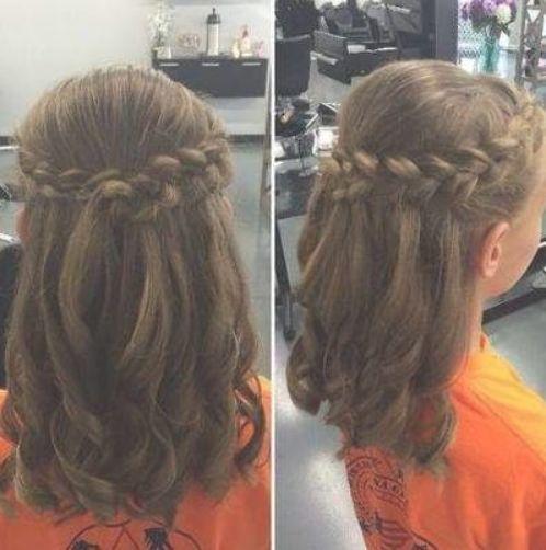 Penteados De Casamento Para Criancas Wedding Hairstyles Weddinghairstyles Best Wedding Nail Effect In 2020 Kids Hairstyles Cute Hairstyles For Kids Kids Hairstyles For Wedding