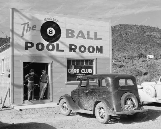 americabymotorcycle:    Pool Room.