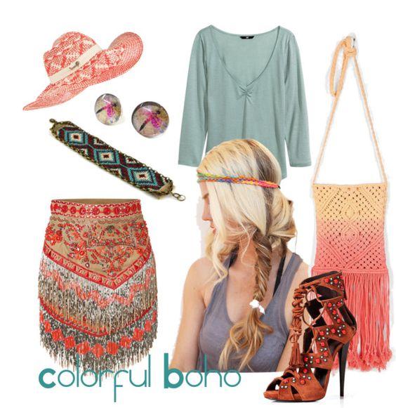 Colorful Boho