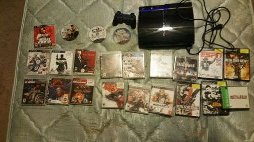 Sony PlayStation 3 Launch Edition 60GB Piano Black Console  with 22 games https://t.co/La5hSQEeIz https://t.co/dhz58wS9Vs