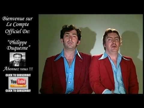 Claude francois par Philippe Duquesne Les Deschiens.Excellent