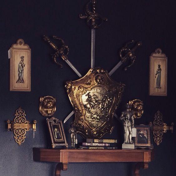 #Swords #Shield #Crest #Knight #King