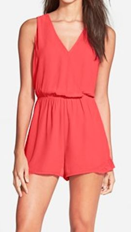 summertime sleeveless romper