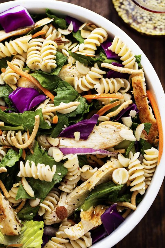 137 best food images on pinterest food networktrisha kitchens chinese chicken pasta salad with sesame dressing forumfinder Choice Image