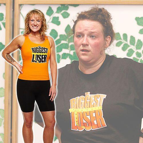 Cassandra lost 92 lbs. on Season 13 of #BiggestLoser