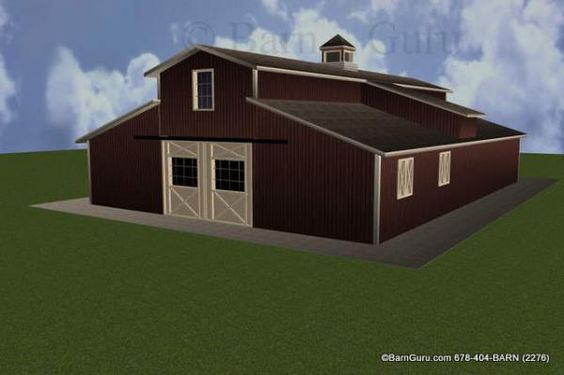 Horse Barn Designs Style And Horse Barn Plans On Pinterest