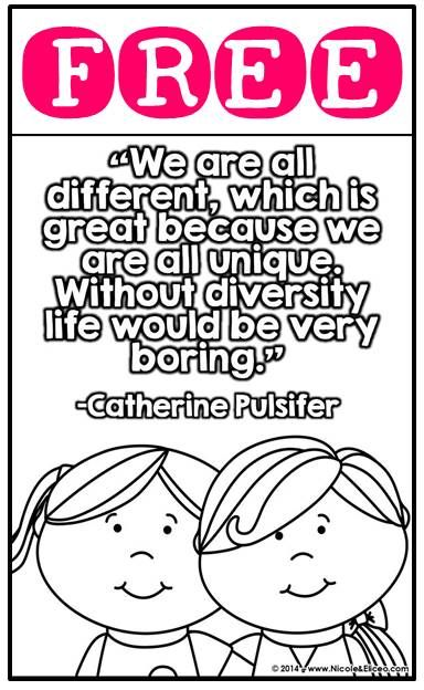 diversity children coloring pages - photo#25