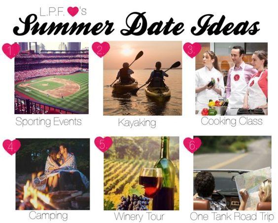 summer date ideas!
