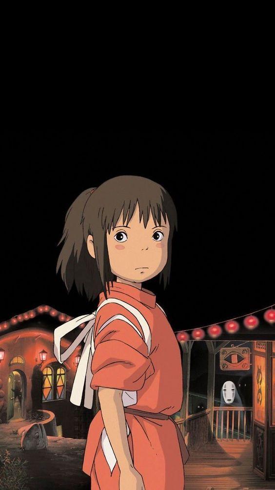 spirited away wallpaper chihiro no face anime sen 千と千尋の神隠し - 荻野 千尋 - 千