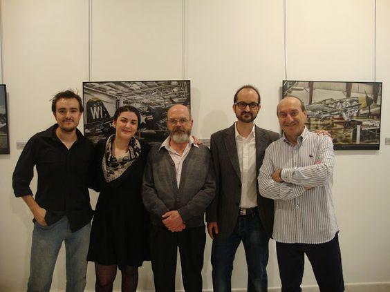 """Inauguración de las exposición """"5 sentidos"""" en Valdepeñas"""
