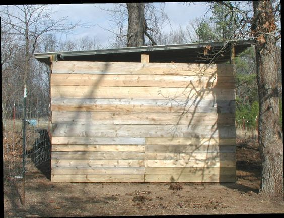 Here is how we built a cheap loafing shed. Our photos may ...