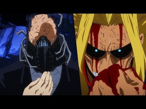 United States Of Smash All Might Vs All For One My Hero Academia