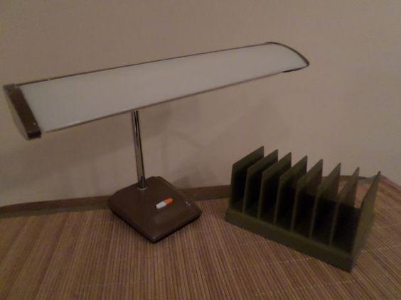 Mid Century Retro Fluorescent Desk Lamp by LisaWellsVintage, $25.00