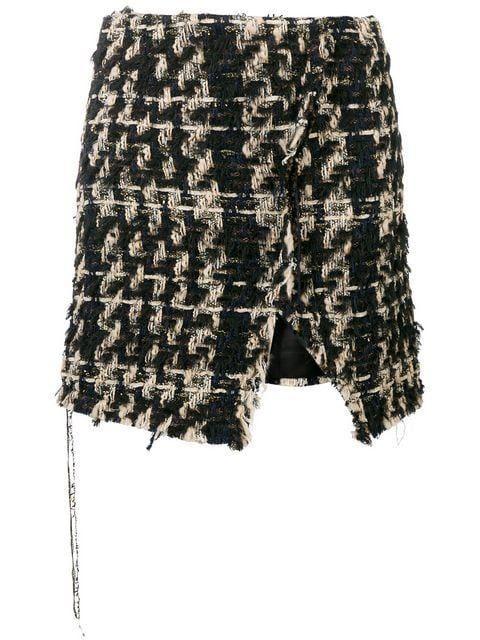 Faith Connexion tweed mini skirt £170 Shop Online SS19