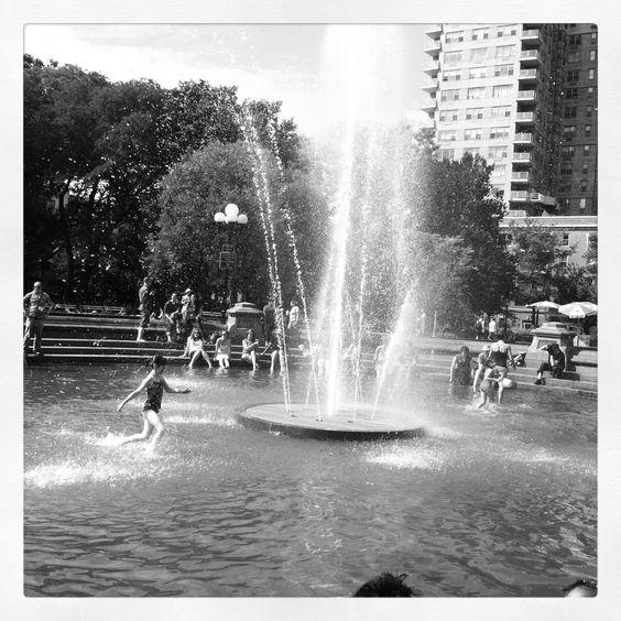Washington Square Summertime