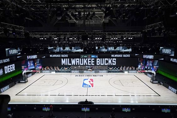 Pro Sports Teams Delay Games After Milwaukee Bucks Refuse To Play In Protest Of Jacob Blake Shooting Milwaukee Bucks Nba Milwaukee
