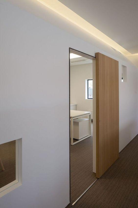 Pintu geser minimalis
