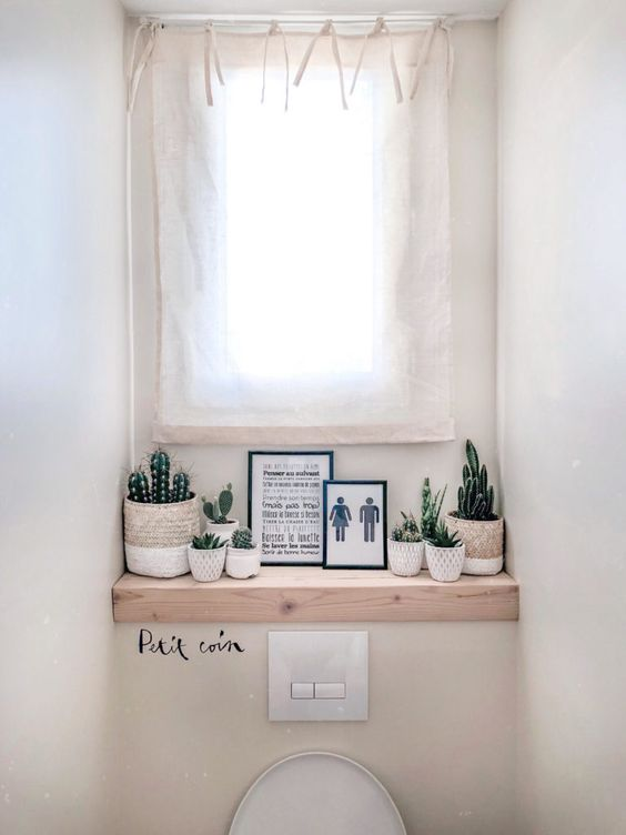 Affiche toilette déco personnalisable