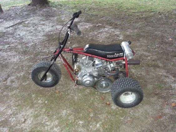 3 Wheel Mini Bike : Mini trike motorcycles pinterest minis