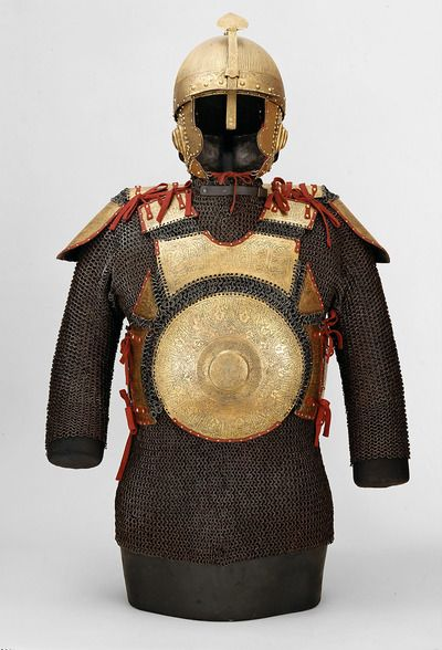 Ottoman armor | 2. Viertel 16. JarhundertNeue Burg, Hofjagd- und Rüstkammer