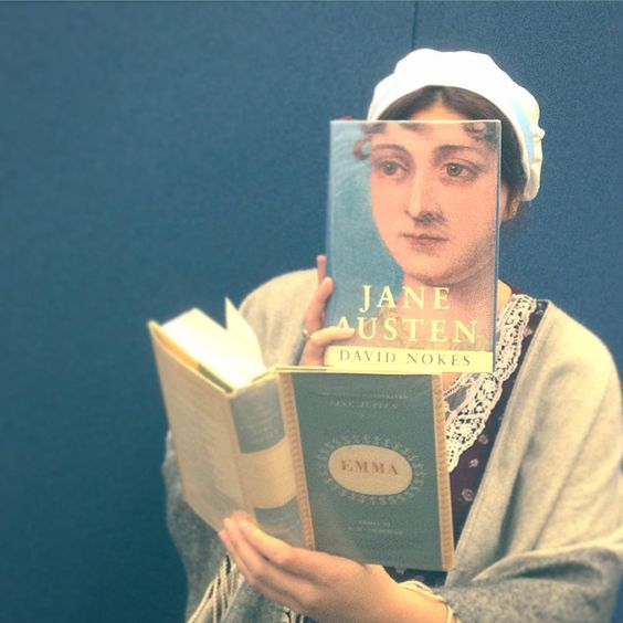 Today's #bookfacefriday remembers Jane Austen, who passed away in Winchester 199 years ago. Last week The Martial Rose Library Staff visited Chawton House Library in Hampshire, where they are celebrating the 200th anniversary of Emma, one of her most famous novels. We even got a behind-the-scenes tour! #bookface