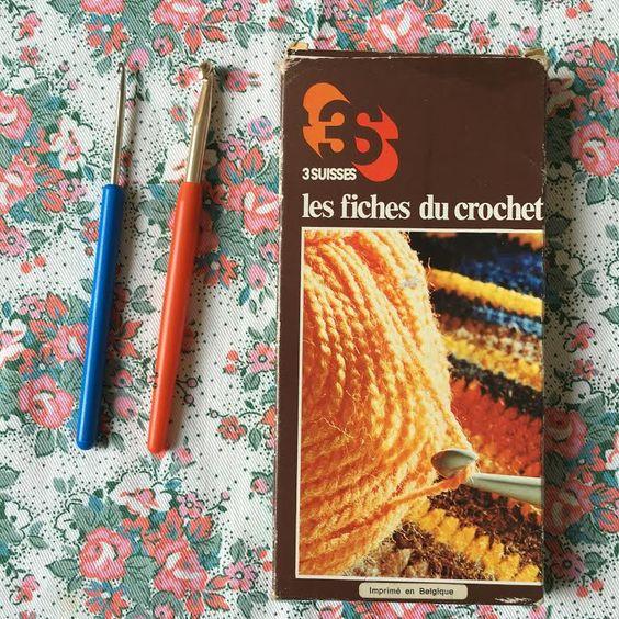 Orangevertevintage — Fiches du Crochet Fiches Du Tricot 3 Suisses