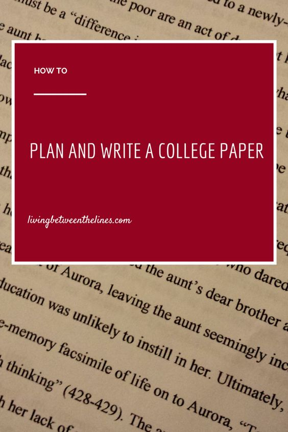 A complete guide to planning and starting a college paper - from literature analysis to scientific reports.