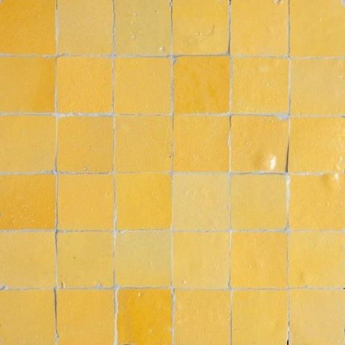 Yellow Moroccan Tile In 2020 Yellow Kitchen Tiles Moroccan Tile Yellow Tile