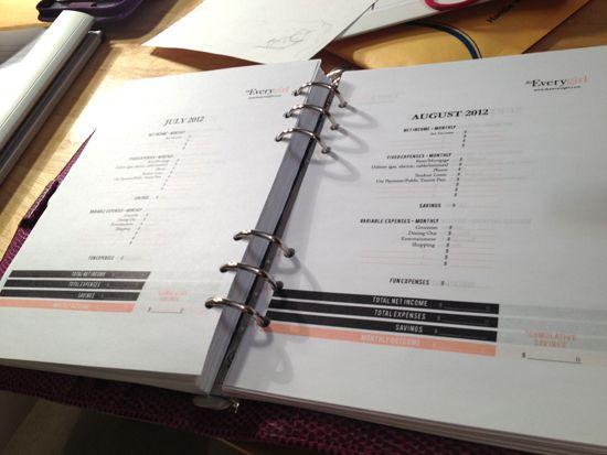 budget #Filofax