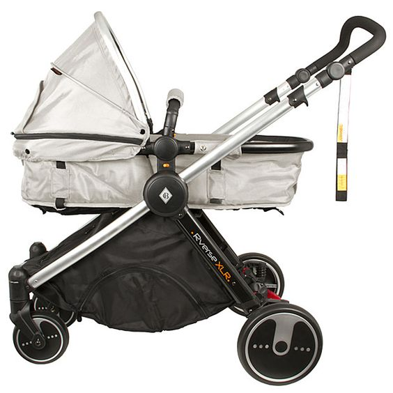 BéBécare Rverse XLR stroller converts into 2 modes - stroller and ...