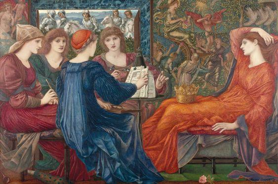 Edward Coley Burne-Jones 1833-1898. (nacido Edward Coley Burne-Jones ;. 28 de de agosto de 1833, Birmingham, Reino Unido - 17 de junio de 18...