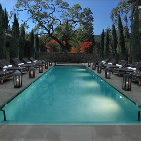 Outdoor pool Lounge by Lisa Holt, DLS Hotels.com