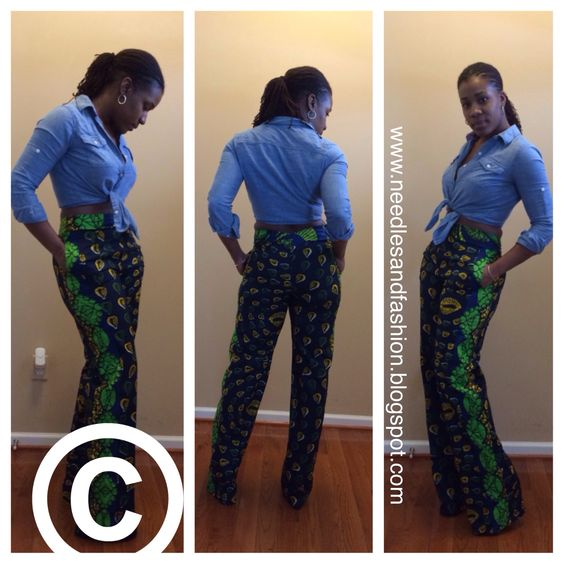 Diy Wide Leg Pants