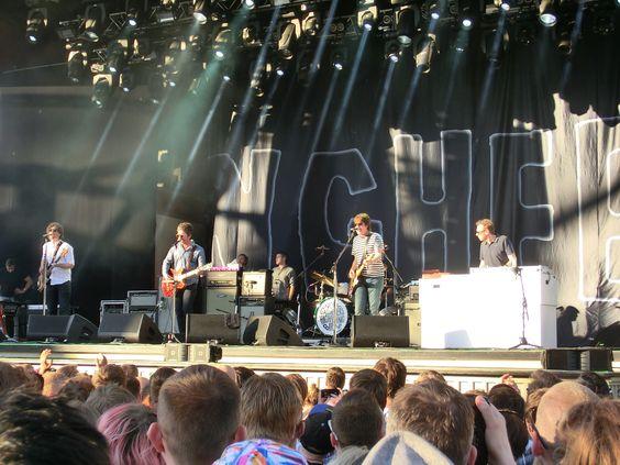 Juli 2 2015 Noel Gallagher's High Flying Birds at Gröna Lund Stockholm Sweden.