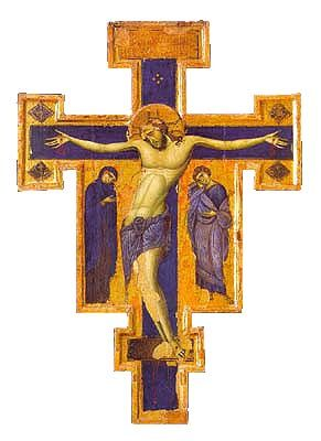 Unknown Master (Master of the Blue Crucifixes), Italian (active around 1250 in Umbria):
