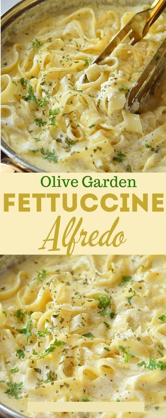 Olive Garden Fettuccine Alfredo Recipe Pasta Recipe Foodi Ideas Recipe Fettuccine Alfredo Recipes Recipes Italian Recipes