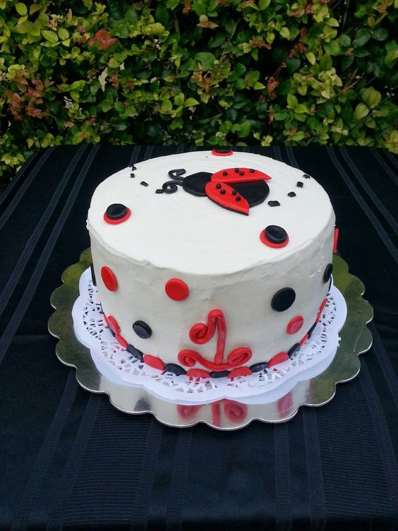 ladybug birthday cake - - Yahoo Image Search Results