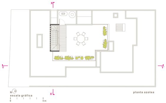 Gallery of MA House   e Roof plan and Architecture
