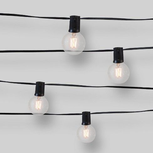 Pin On Light Decor, Clear Patio String Lights