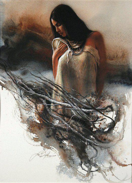 Colector figuras solitarias de las mujeres ~ Obras de Arte