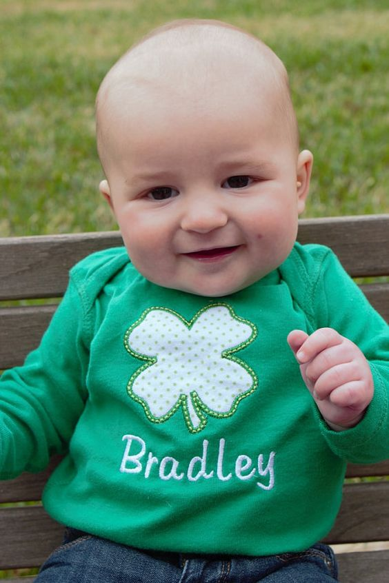 St Patrick s Day Baby Clothes Outfit by katiekomo on Etsy